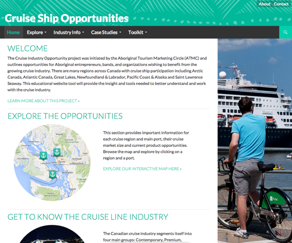 cruise_site_screenshot